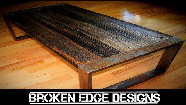 DYI RECLAIMED wood Coffee Table