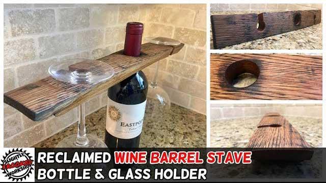 DYI Wine Barrel Stave Project