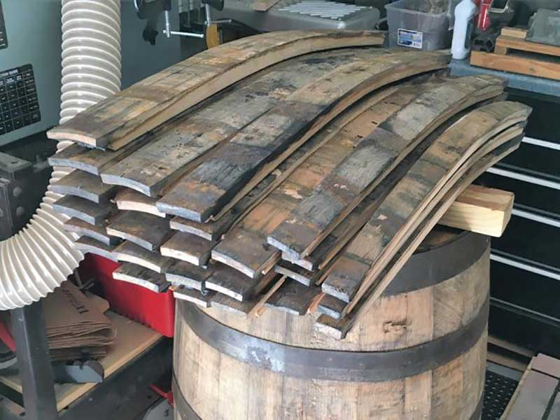 Wine Barrel Staves