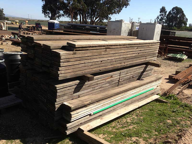 Used Redwood Decking